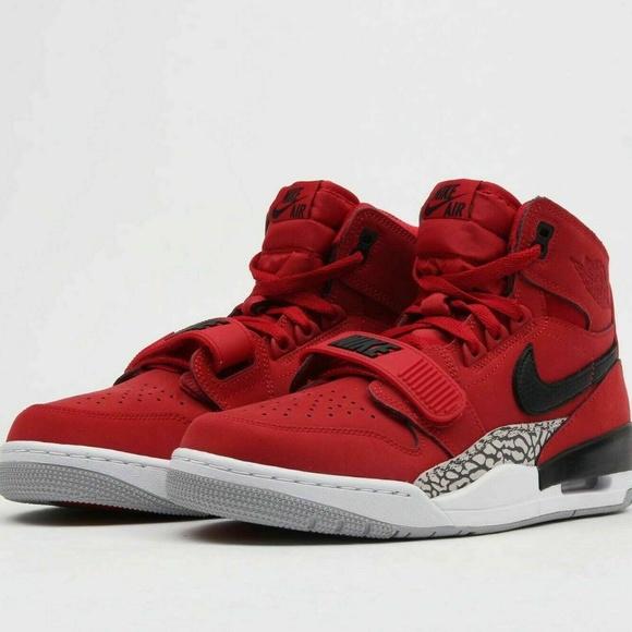 90ab06ac94ad4 Men's Nike Air Jordan Legacy 312 Varsity Red Shoes NWT